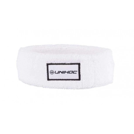 UNIHOC Headband TERRY mid white/black