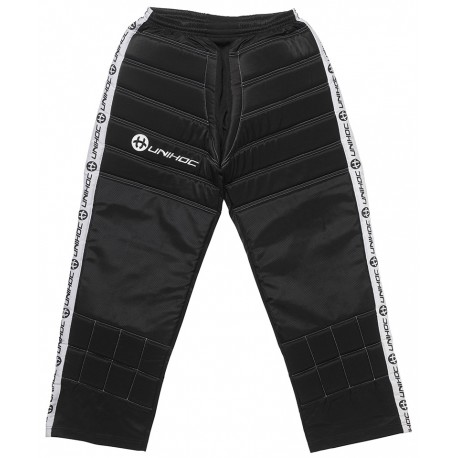 UNIHOC Goalie pants Blocker black/white JR