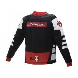 UNIHOC Goalie sweater Summit black/red