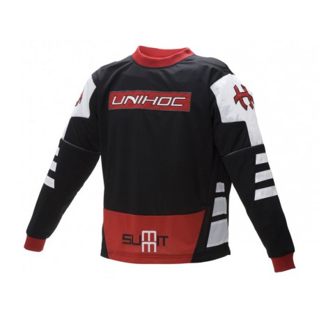 UNIHOC Goalie sweater Summit black/red