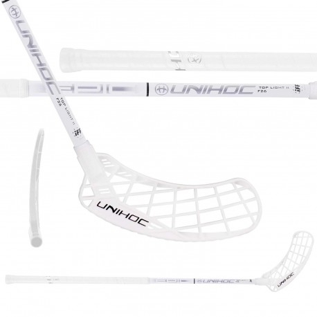 UNIHOC Epic Top Light II 26 white/silver