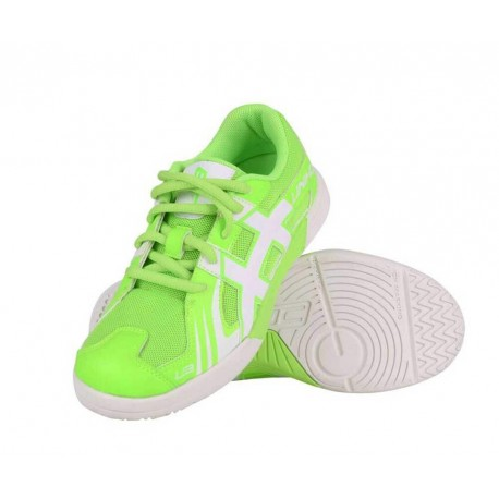 UNIHOC Shoe U3 Junior neon green