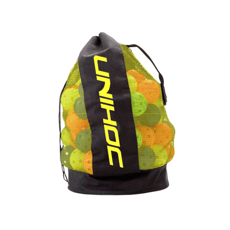 UNIHOC Ballbag black/neon yellow