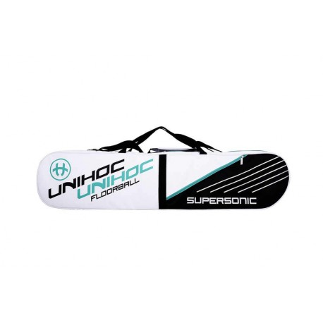 UNIHOC Toolbag Supersonic 4-case white/black/turquoise