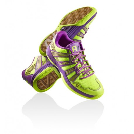 SALMING Race R5 3.0 Safety Yellow/Purple