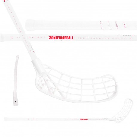 ZONE Maker Air SL Curve 1.0° 27 white/red