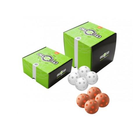 UNIHOC Ball Cr8er White 4-pack
