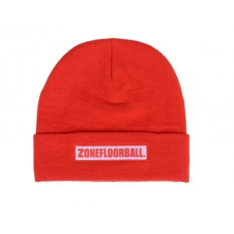 ZONE Beanie LOW KEY red/white