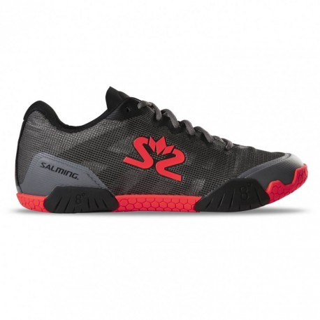 SALMING Hawk Men Shoe GunMetal/Red