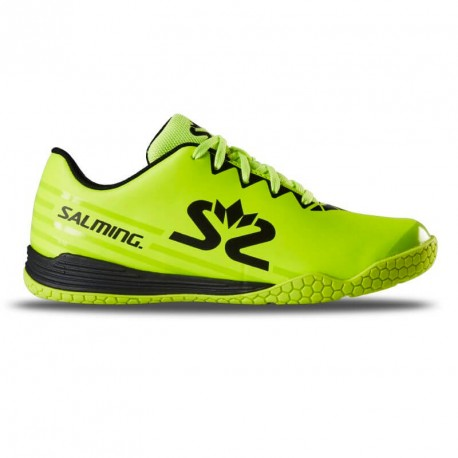 SALMING Spark Kid Shoe Fluo Yellow/Black
