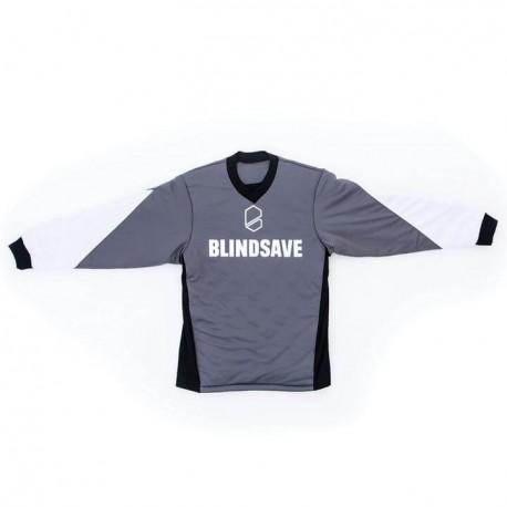 BLINDSAVE KIDS goalie jersey grey