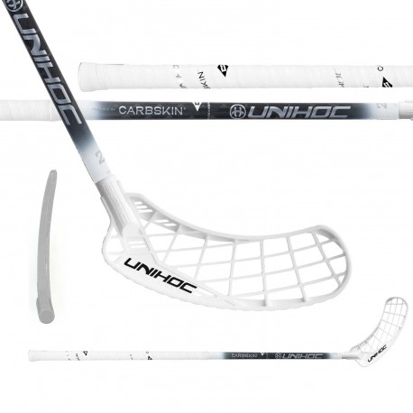 UNIHOC Epic Carbskin 26 white