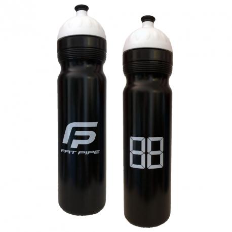 FATPIPE Bottle Black/White 1 L