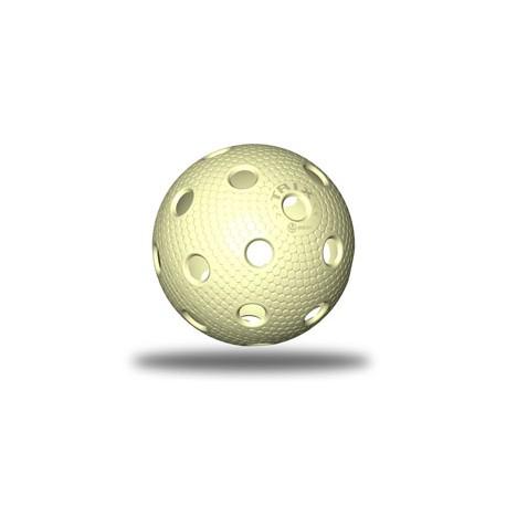 TRIX florbalový míček - Žlutá (vanilková)