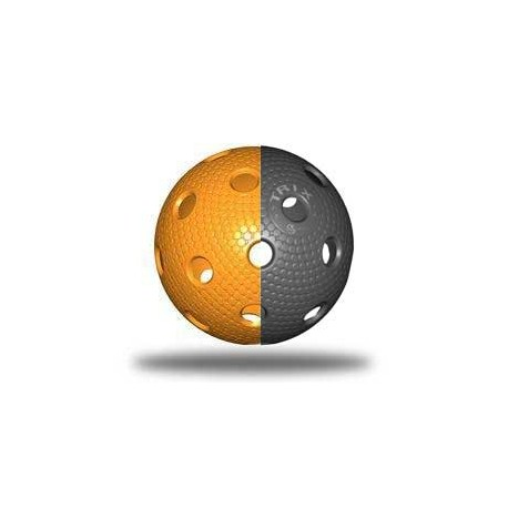 TRIX florbalový míček - Černá/oranžová