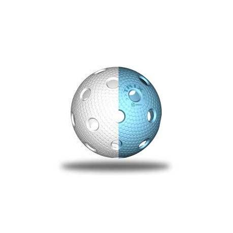 TRIX florbalový míček - Bílá/modrá