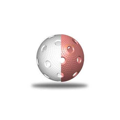 TRIX florbalový míček - Bílá/růžová