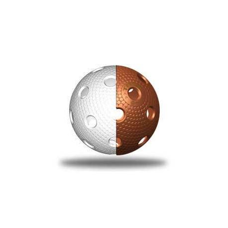 TRIX florbalový míček - Bíla/měděná