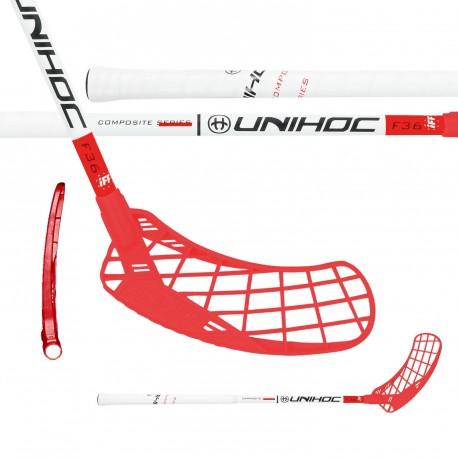 UNIHOC Epic Youngster Composite 36 White/Red