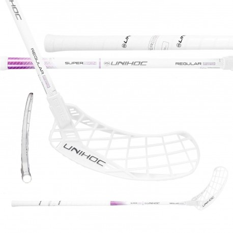 UNIHOC Epic Superskin Regular FL 29 White/Purple
