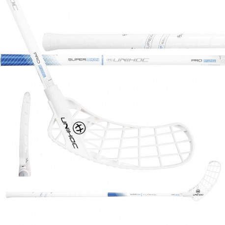 UNIHOC Iconic Superskin Pro 26 White/ Blue