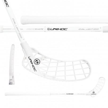 UNIHOC Iconic Oval Light 26 White/Silver