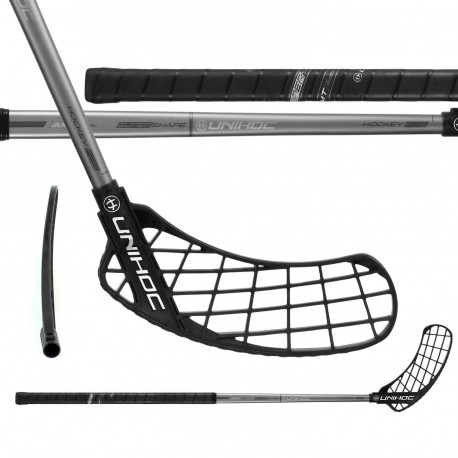UNIHOC Sonic Hockey 26 Black/Graphite