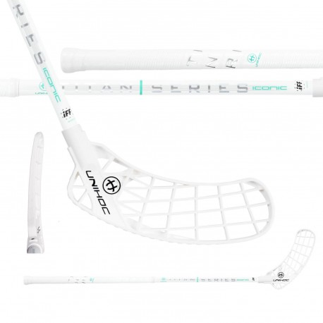 UNIHOC Iconic Titan Superskin Max 29 White