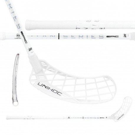 UNIHOC Epic Titan Superskin Pro 26 White