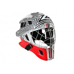 ZONE Goalie mask ICON 2.1 silver/red