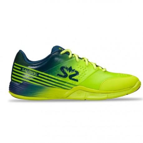 SALMING Viper 5 Men Shoe Fluo Green/Navy
