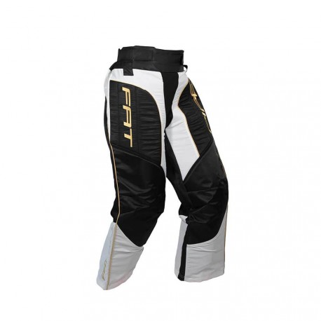 FATPIPE Goalie Pants JR black/gold