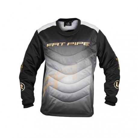 FATPIPE Goalie Jersey JR black/gold