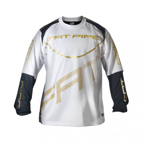FATPIPE Goalie Jersey white