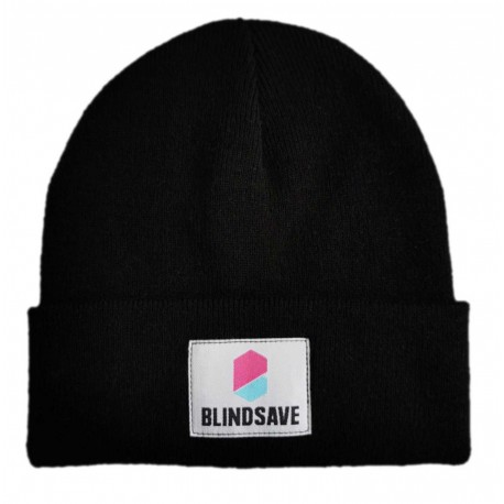 BLINDSAVE Winter cap black