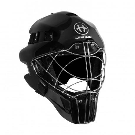 UNIHOC Goalie Mask OPTIMA 66 all black