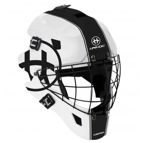 UNIHOC Goalie Mask Unihoc Keeper 44 white/black
