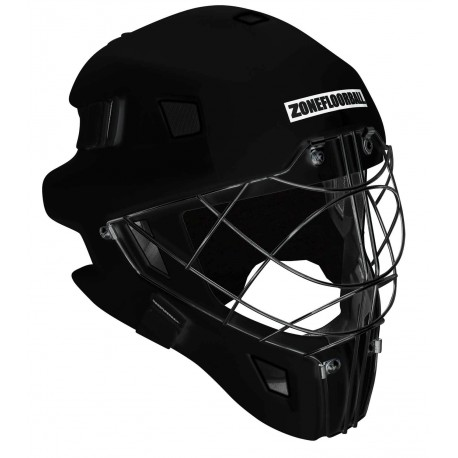 ZONE Goalie Mask Monster Cat Eye Cage blacked out