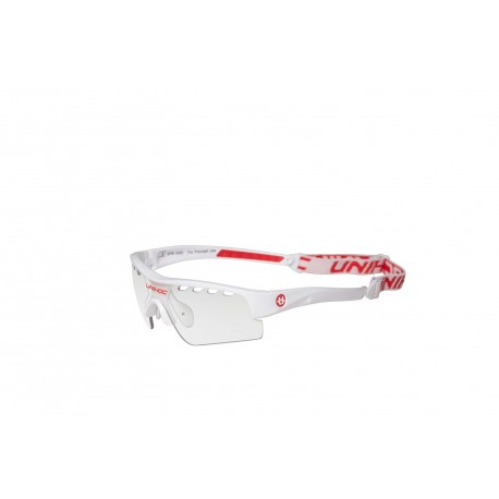 UNIHOC Eyewear Victory kids white/red