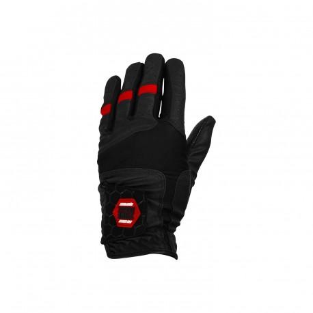ZONE Goalie gloves PRO black/red