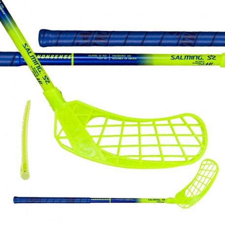 SALMING Quest2 Kid 35 Blue/Fluo Yellow
