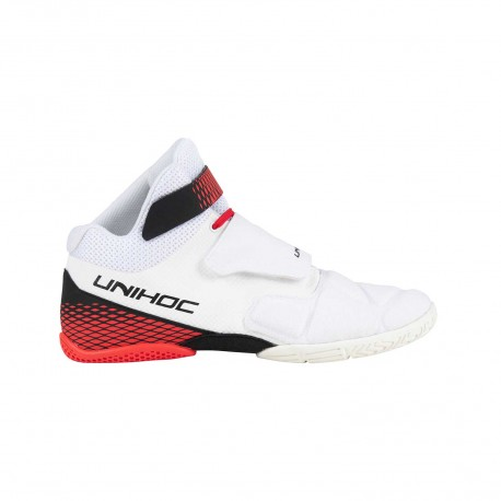 UNIHOC Shoe U4 Goalie white/red