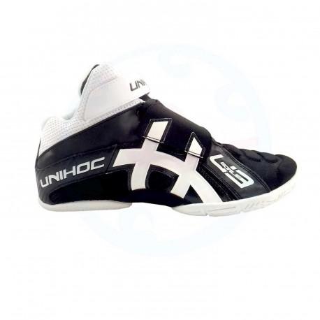 UNIHOC Shoe U3 Goalie black/white