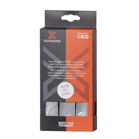 OXDOG Grip Boost 3-pack grey