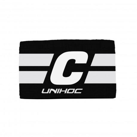UNIHOC Captain´s Band Leader Black/White