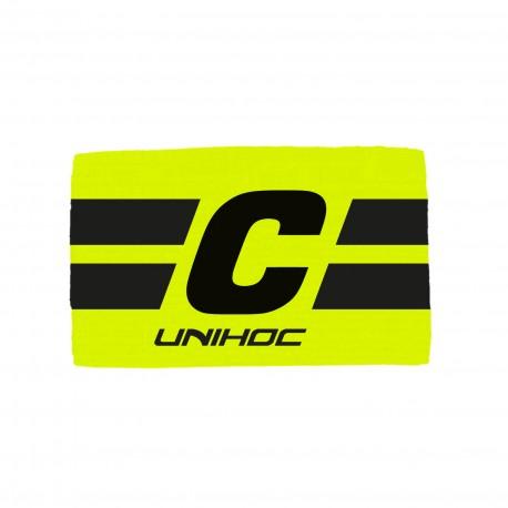 UNIHOC Captain´s Band Leader Yellow/Black