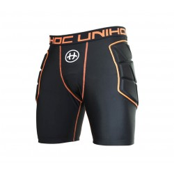 UNIHOC Goalie shorts FLOW black SR