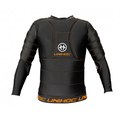 UNIHOC Goalie T-shirt FLOW black JR