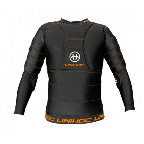 UNIHOC Goalie T-shirt FLOW black SR