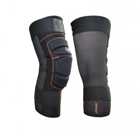 UNIHOC Shinguard FLOW black pair